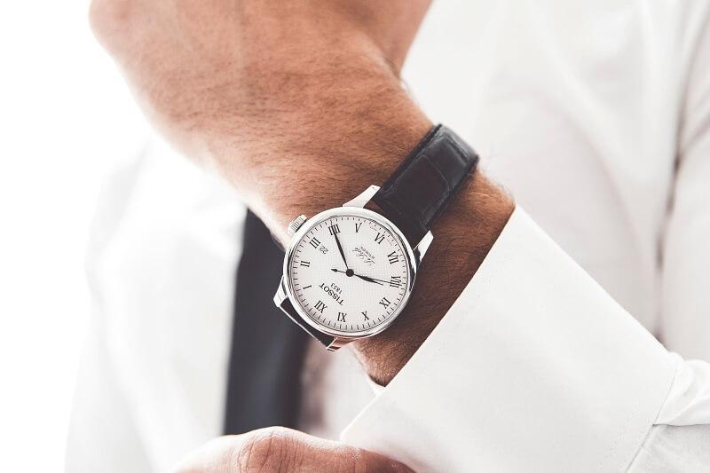 zegarek dla mężczyzny tissot